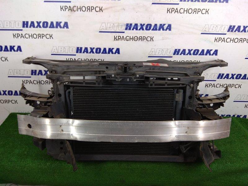 Рамка радиатора Audi A3 8P AXW 2003 передняя Пластиковая, в сборе с радиаторами двигателя и
