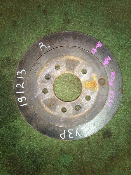 Диск тормозной Mazda Mpv LY3P L3-VE задний RN1502V Ф302, T18, CD72, H57, 5*114.3, ВЕНТ, MPV LY3P,