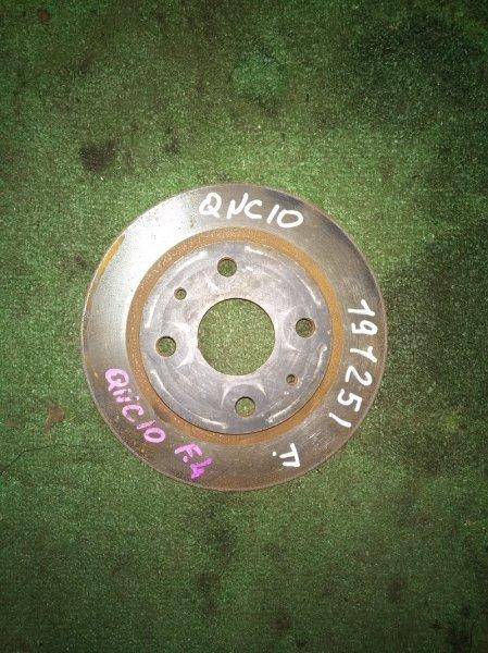 Диск тормозной Toyota Passo KGC1# 1KR-FE передний RN1481V Ф234, T15.4, ШПИЛЬКИ, PASSO QNC10