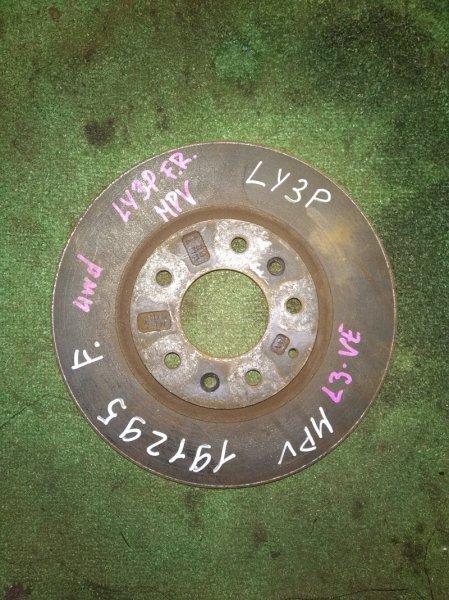 Диск тормозной Mazda Mpv LY3P L3-VE передний RN1501V Ф296, T28, 5*114.3, MPV LY3P,