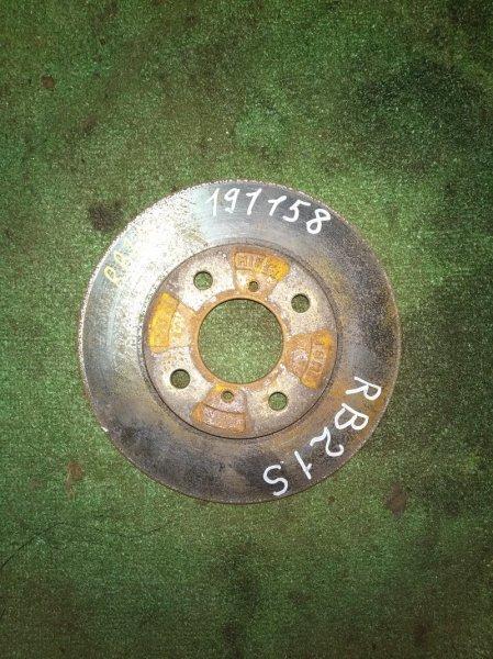 Диск тормозной Suzuki Aerio RB21S M15A передний Ф246, T19.3(ИЗНОС 0.7ММ)