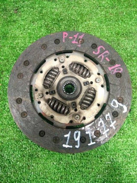 Диск сцепления Nissan Primera P11 SR18DE Пробег 67.9т.км c МТ5 RS5F32A FM38, 18 шлицов, диаметр 215.