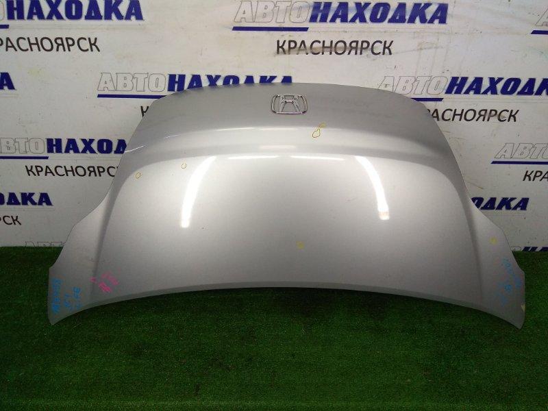 Капот Honda Life JC1 P07A 2008 1 модель, серебро, вмятинки без повреждения ЛКП, в остальном