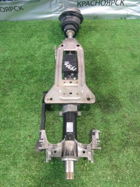 Колонка рулевая Bmw 320I E90 N46B20 2005 Простая, с регулировкой по наклону и высоте.