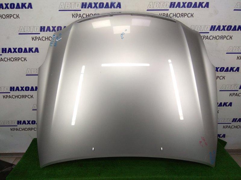 Капот Toyota Mark Ii Blit GX110W 1G-FE 2002 Серебро, незначительные вмятинки без повреждения ЛКП,