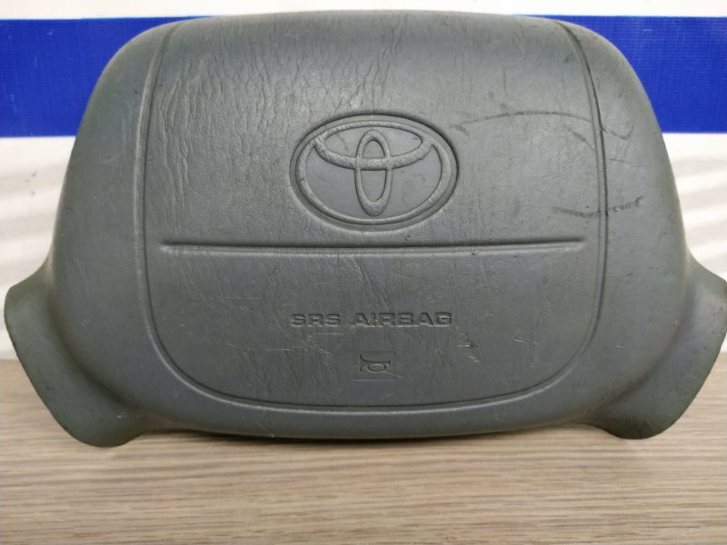 Airbag Toyota Granvia KCH10W на руль т.серый 1мод, 2сп с зарядом
