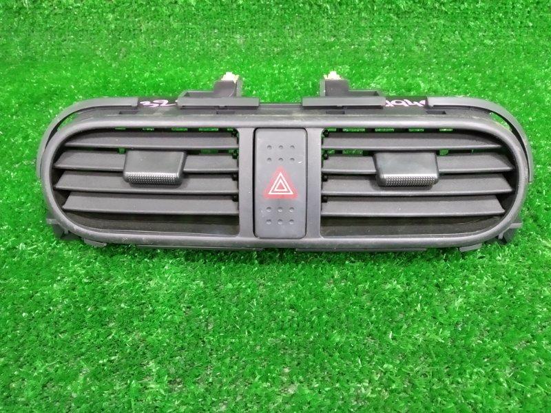 Воздуховод Suzuki Splash XB32S K12B 2008 центральные дефлекторы обдува с панели, с кнопкой