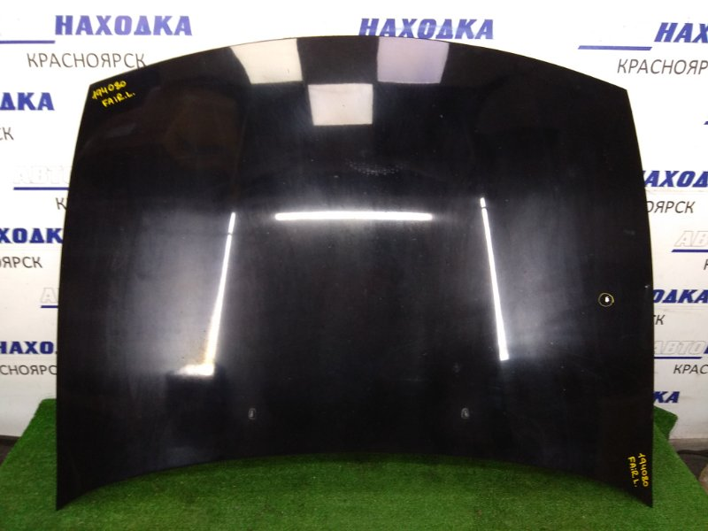 Капот Nissan Fairlady Z GCZ32 1989 Черный, алюминий, вмятинка.