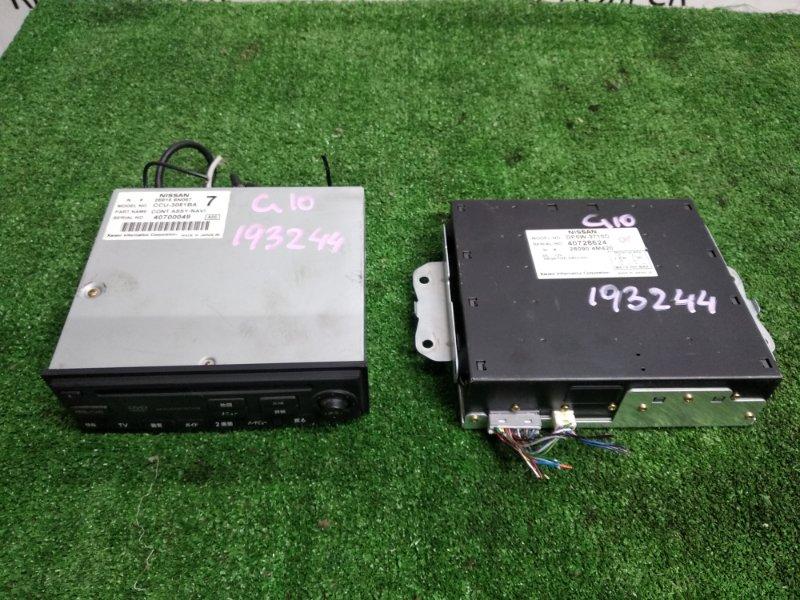 Блок управления навигацией Nissan Bluebird Sylphy QG10 28090 4M420 навигационная система