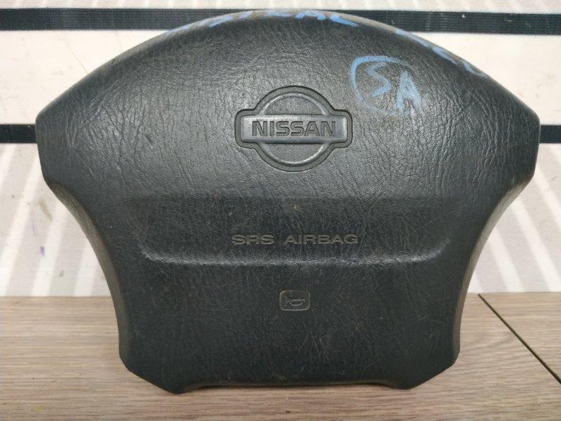 Airbag Nissan Mistral R20 TD27BT на руль, черн 4сп. с зарядом