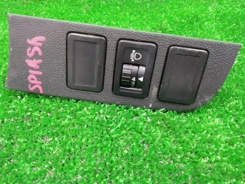Кнопки в салон Suzuki Splash XB32S K12B 2008 регулировка фар по высоте