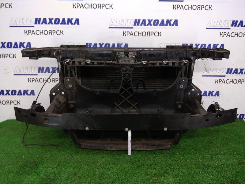 Рамка радиатора Bmw 116I E87 N45B16 2004 передняя пластиковая, с замком, с радиаторами двс и