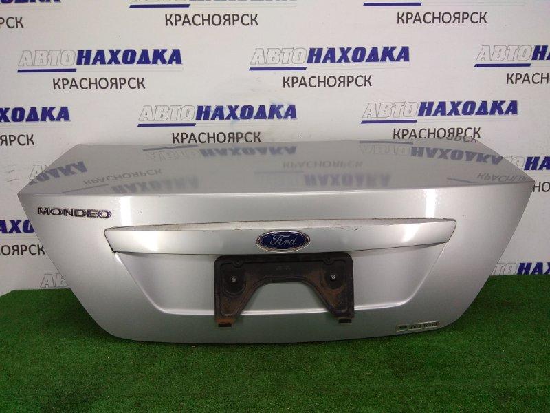 Крышка багажника Ford Mondeo B4Y CGBA 2000 задняя Задняя в сборе, дефект ЛКП на накладке. в
