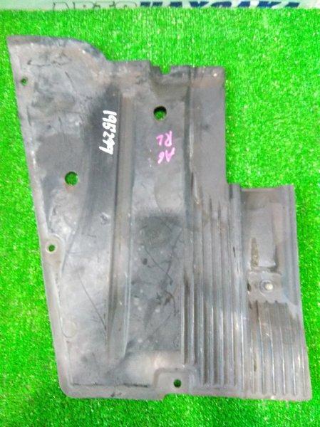 Защита Audi A6 C6 BDW 2004 задняя левая 4F0825215 RL антигравийная