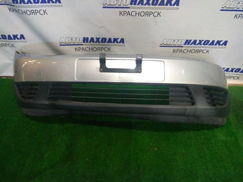Бампер Ford Fiesta CBK FYJA 2002 передний передний, 1 мод. с заглушками