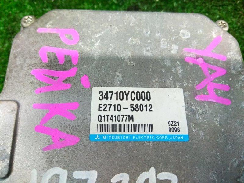 Блок управления рулевой рейкой Subaru Exiga YA4 EJ20 2008 34710YC000 блок управления рулевой