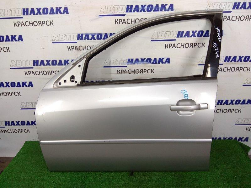 Дверь Ford Mondeo B4Y CJBA 2000 передняя левая FL без стекла, без стеклоподъемника, вмятинки,