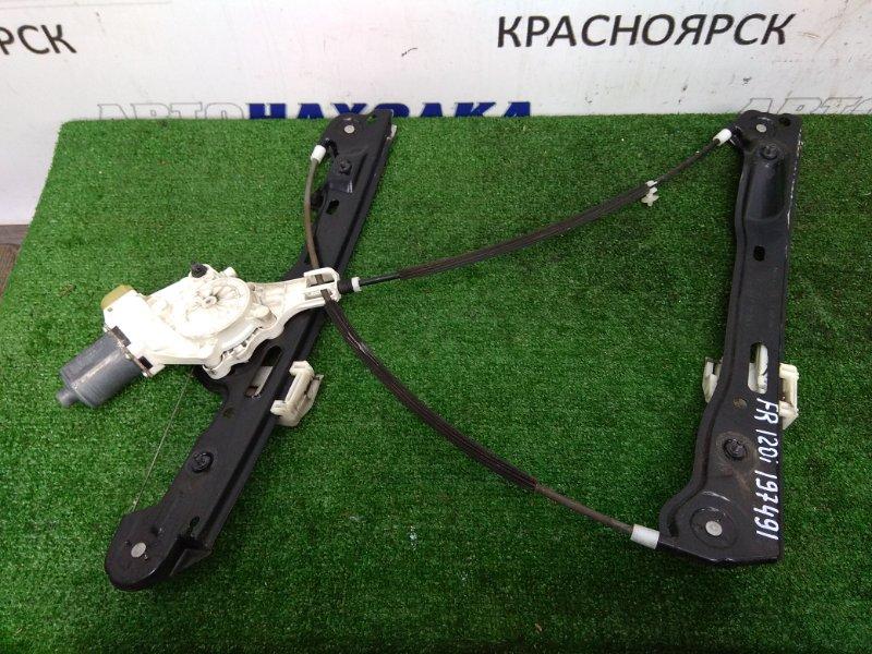 Стеклоподъемник Bmw 120I E87 N45B16 2004 передний правый передний правый, 6 контактов