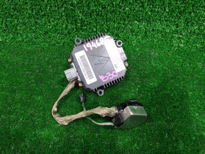 Блок розжига ксенона Nissan Lafesta B30 MR20DE 2004 NZMNS111LBNA, D2R/D2S, с проводом на лампу, проверен -