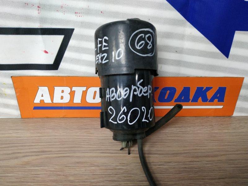 Бачок обратки топлива Toyota Raum EXZ10 5E-FE 77704-10170 абсорбер бензиновый