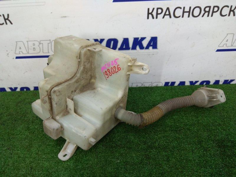Бачок омывателя Toyota Kluger MCU25W 1MZ-FE 2000 с горловиной и крышкой, под 2 мотора