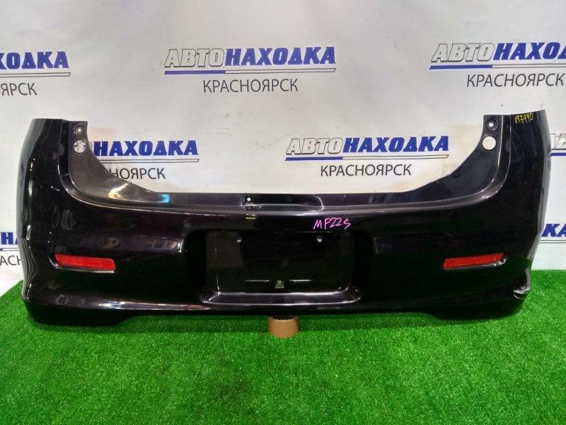 Бампер Suzuki Mr Wagon MF22S K6A 2006 задний задний. с катафотами, есть потертости и царапины,