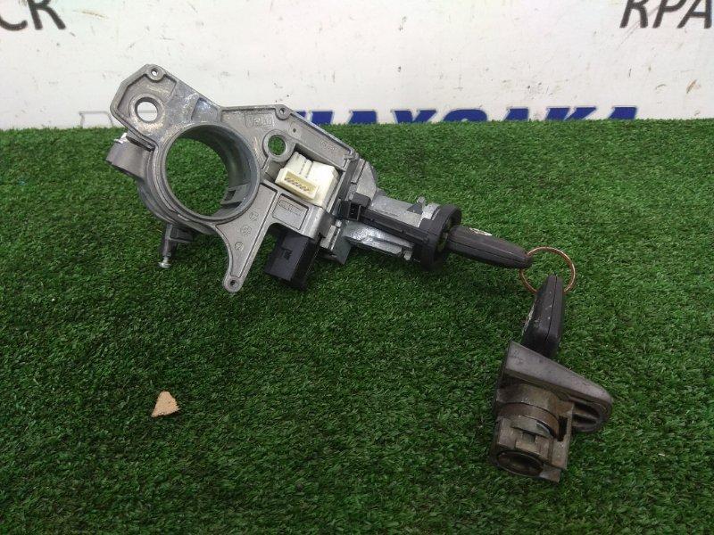 Замок зажигания Opel Astra H Z18XE 2004 N0501881 электронный + 2 ключа и личинка водительской