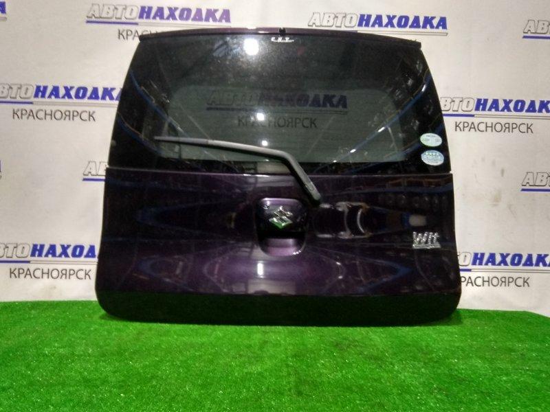 Дверь задняя Suzuki Mr Wagon MF22S K6A 2006 в сборе, ХТС