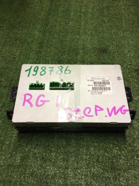 Блок управления навигацией Honda Stepwgn RG1 K24A 3810-SLJ-N01