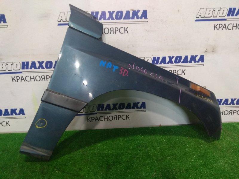 Крыло Suzuki Escudo TA01W G16A 1988 переднее правое FR с поворотником и молдингом