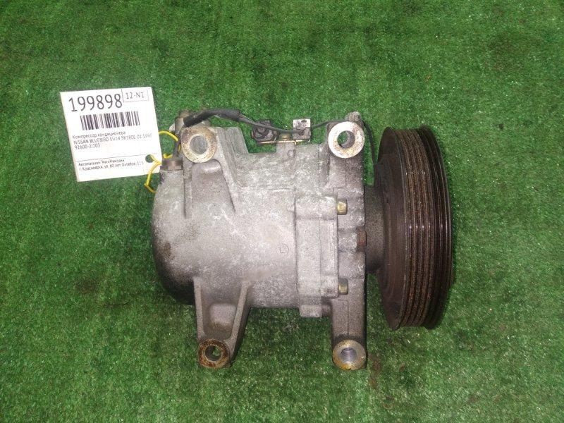 Компрессор кондиционера Nissan Prairie M11 SR18DE 01.1997 92600-2J203 BLUEBIRD EU14,