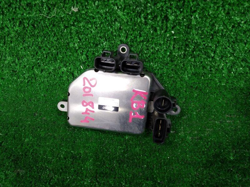 Блок управления вентилятором Honda Legend KB1 J35A 2004 499300-3260 4 фишки