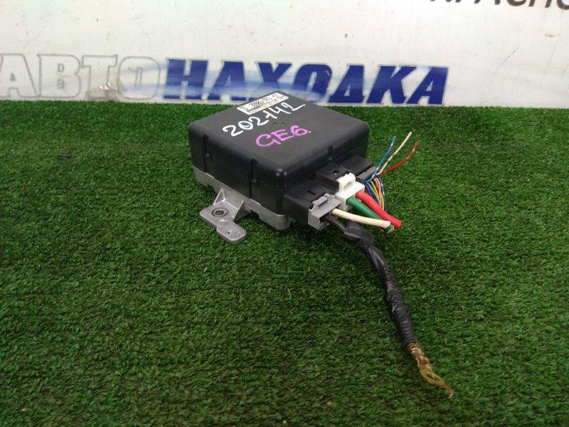 Блок управления рулевой рейкой Honda Fit GE6 L13A 2007 39980-TF0-013 блок управления рулевой