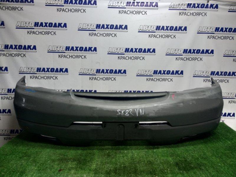 Бампер Nissan Vanette SK82V передний сломана направляющая