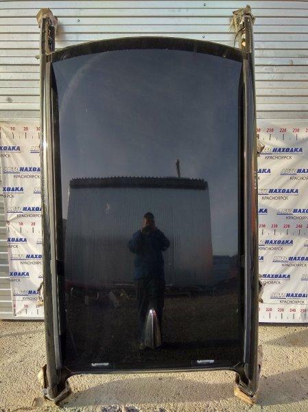 Крыша Bmw X3 E83 M54B25 2004 со стойками по низ стекол, с обшивкой и релингами, цвет 475