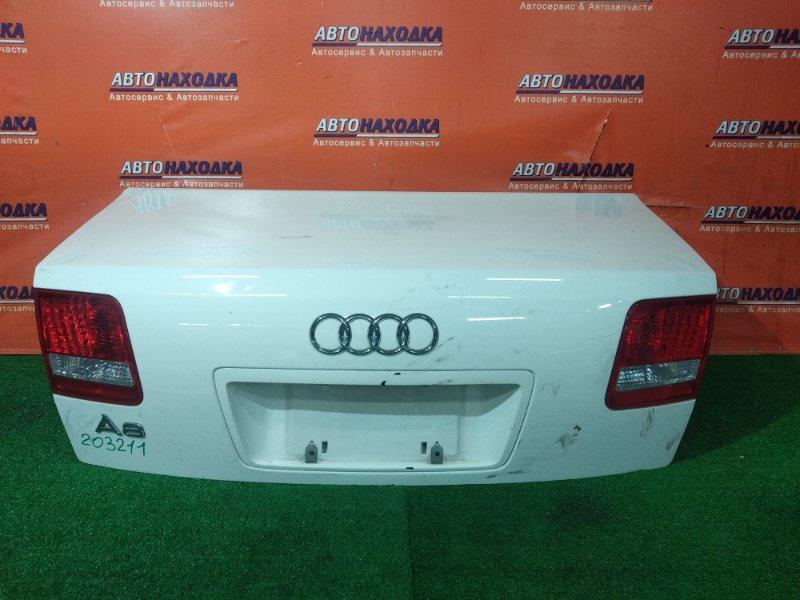 Крышка багажника Audi A8 4E2 BGK 07.2002 ДИОДНАЯ ОПТИКА