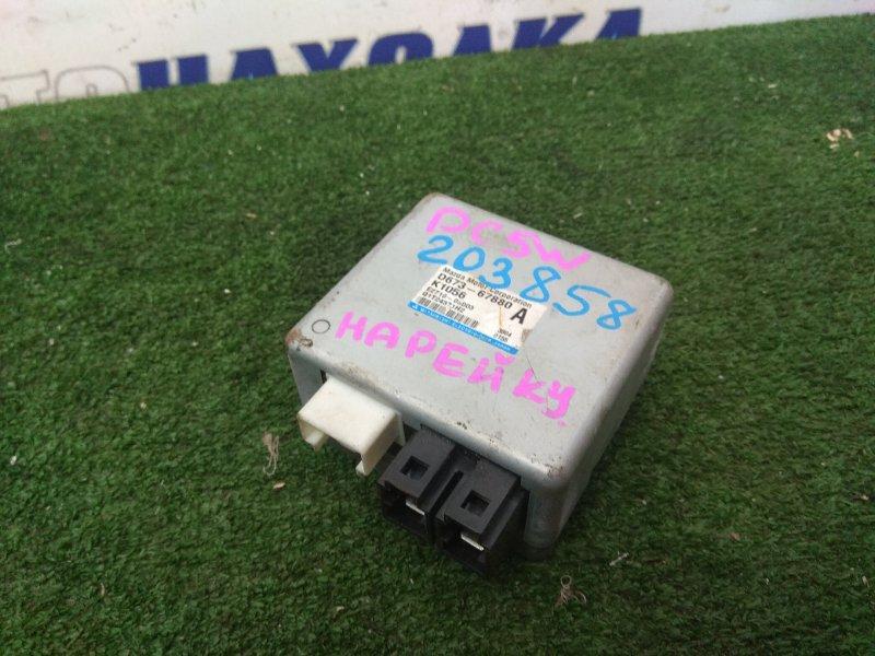 Блок управления рулевой рейкой Mazda Verisa DC5W ZY-VE 2006 D673-678-80 блок управления рулевой
