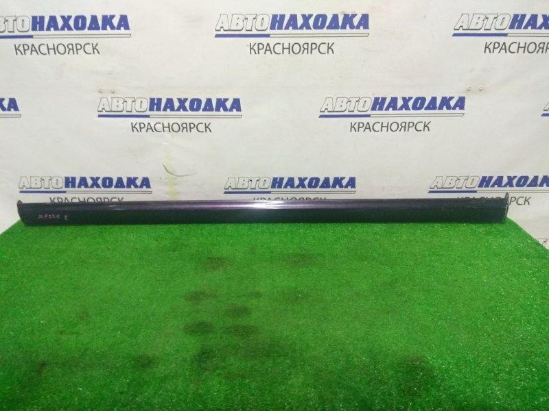 Порог Suzuki Mr Wagon MF22S K6A 2006 правый пластиковый, правый (есть дефект *)