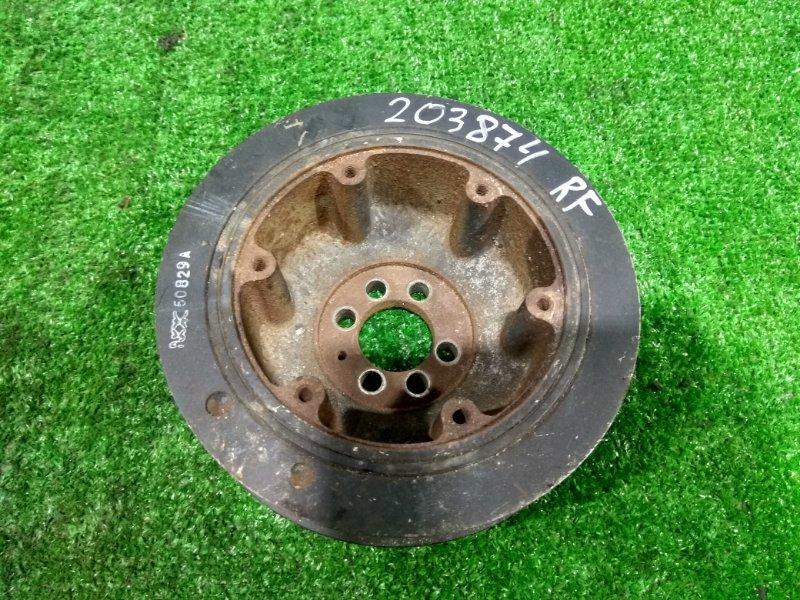 Шкив коленвала Mazda Titan SYF6T RF 2000 на три ручейковых ремня , с аукционного авто, 128,9 т.км.