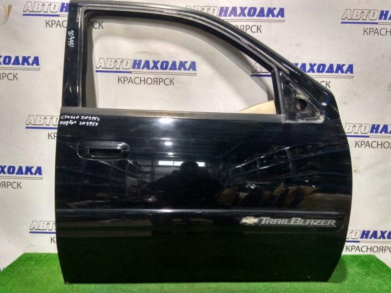 Дверь Chevrolet Trailblazer T360 LL8 2001 передняя правая 88937089 FR . ХТС. Без стекла и с/подъемника