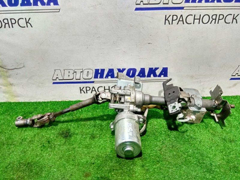 Колонка рулевая Nissan March K13 HR12DE 2010 28500-1HZ0A с ЭУРом, блоком управления и карданчиком +