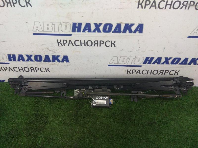 Шторка багажника Honda Legend KB1 J35A 2004 задняя складная, электронная, сетка, с трапецией