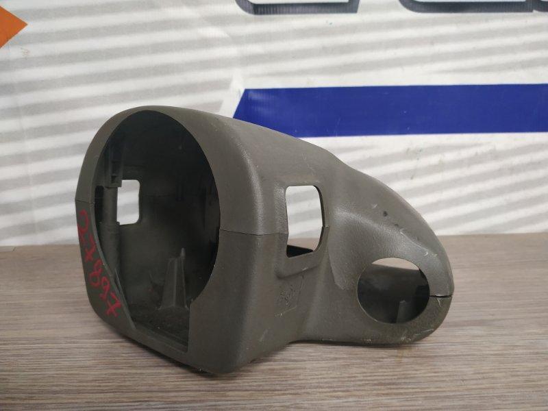 Кожух рулевой колонки Daihatsu Pyzar G303G HE-EG 1996 серо-коричневый