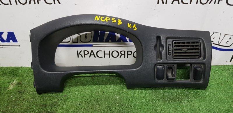 Накладка пластик в салон Toyota Succeed NCP51V 1NZ-FE щитка приборов+кнопка зеркал