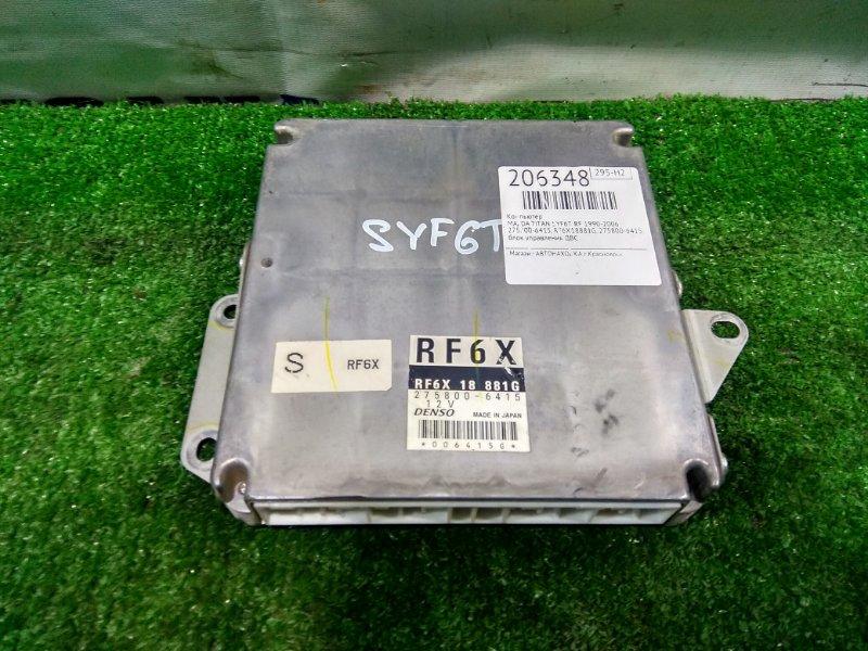 Компьютер Mazda Titan SYF6T RF 2000 275800-6415, RF6X18881G блок управления ДВС , с аукционного авто, 128,9