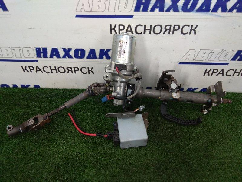 Колонка рулевая Nissan March K13 HR12DE 2010 J1-004462W с электроусилителем и блоком управления