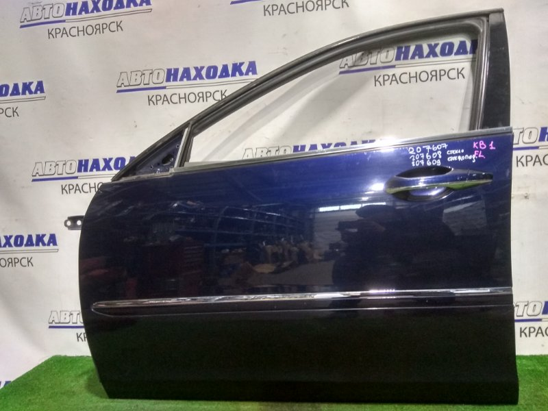 Дверь Honda Legend KB1 J35A 2004 передняя левая FL без стекла и с/подъемника. Цвет B532P (под