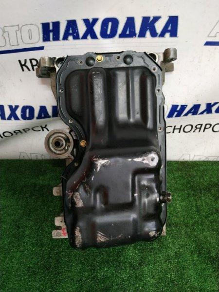 Поддон Mazda Demio DY3W ZJ-DE 2002 2 части, железный и AL проставка. С контрактного ДВС 1 модели