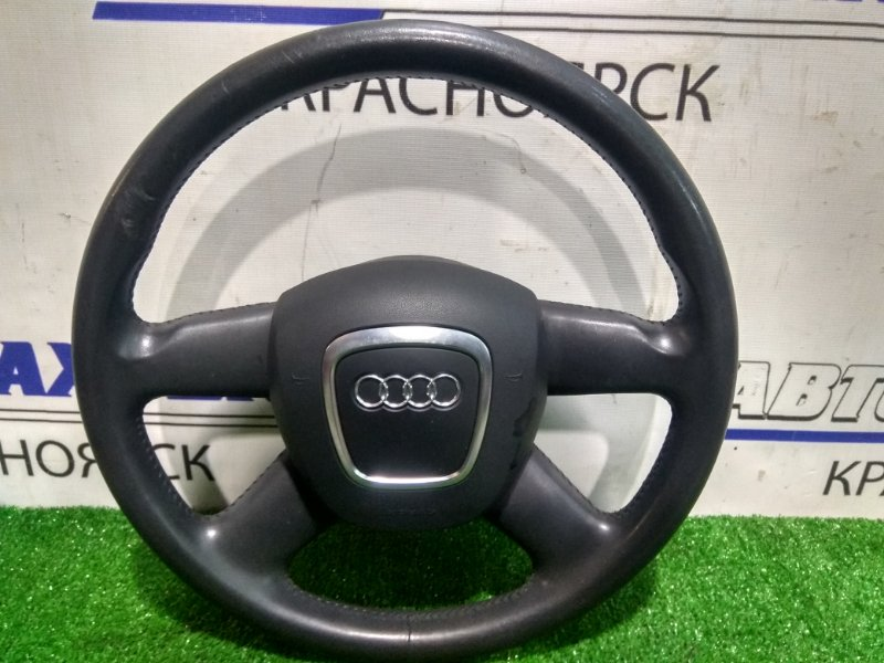 Airbag Audi A4 B7 ALT 2004 8K0419091A с рулем, кожа с дефектом, с подушкой, без пиропатрона