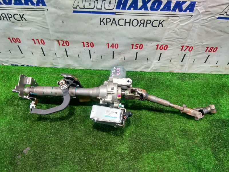 Колонка рулевая Nissan March K13 HR12DE 2010 285001HA0A с ЭУРом и блоком управления + карданчик